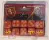 A Song of Ice & Fire - House Lannister Dice
