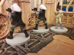 Star Wars Imperial Assault - Princess Leia and Fleet Troopers