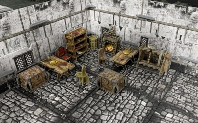 Battle Systems: Fantasy Village Furniture
