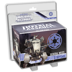 Imperial Assault: General Weiss Villian Pack