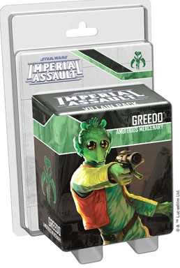 Imperial Assault: Greedo Villain Pack