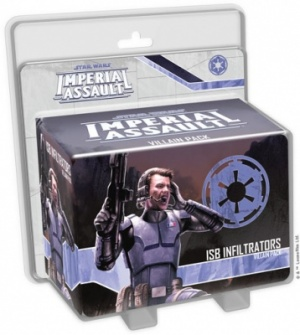 Imperial Assault: ISB Infiltrator Villain Pack