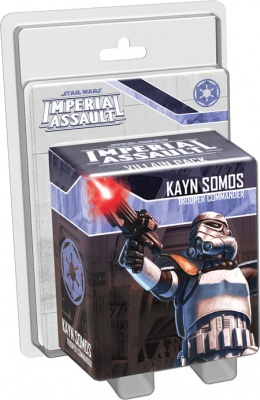Imperial Assault: Kayn Somos Villain Pack