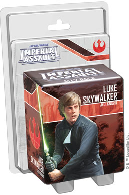 Imperial Assault: Luke Skywalker, Jedi Knight Ally Pack