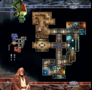 Imperial Assault: Skirmish Map - Anchorhead Cantina