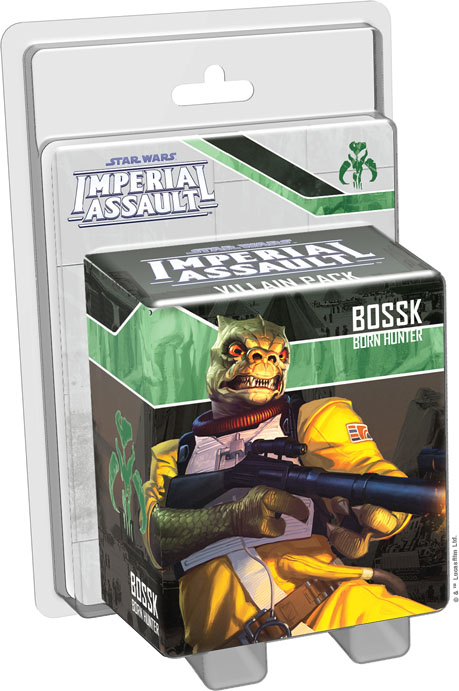 Imperial Assault: Bossk Villian Pack