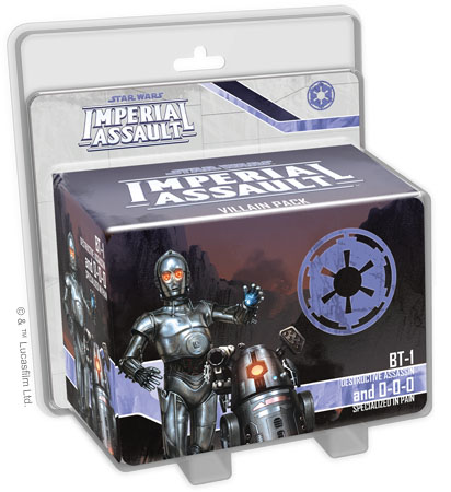 Imperial Assault: BT-1 and 0-0-0 Villain Pack