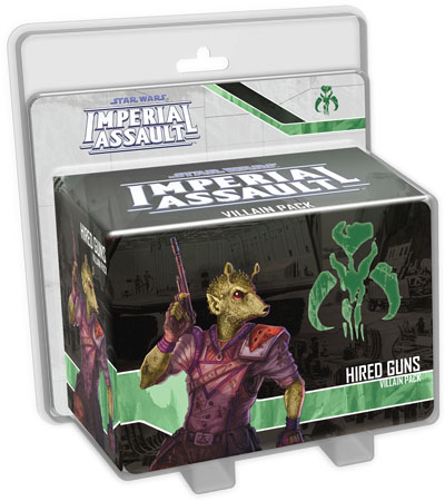 Imperial Assault: Hired Guns Villiain Pack