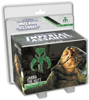 Imperial Assault: Jabba the Hutt Villain Pack