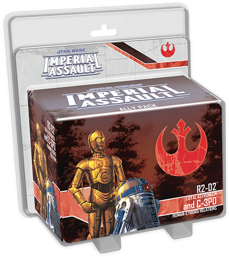 Imperial Assault: R2-D2 and C-3PO Ally Pack
