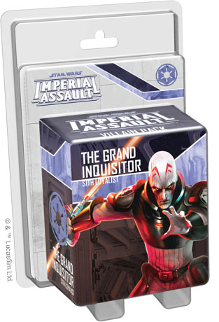 Imperial Assault: The Grand Inquisitor Villain Pack