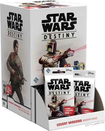 Star Wars Destiny: Covert Missions Booster Box
