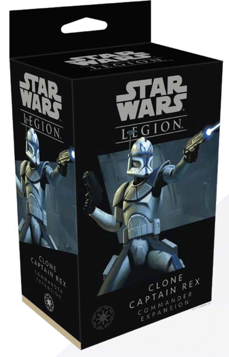 Star Wars Legion: Clone Captain Rex (Clone Wars)
