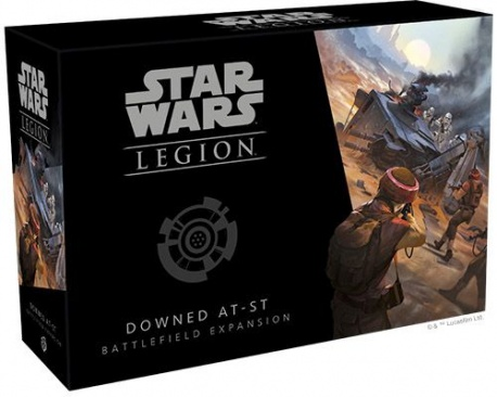 Star Wars Legion: Downed AT-ST Battlefield Expansion - minor box damage
