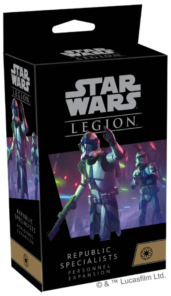 Star Wars Legion: Republic Specialists Personnel