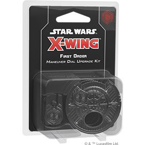Star Wars X-Wing: First Order Maneuver Dial Upgrade Kit