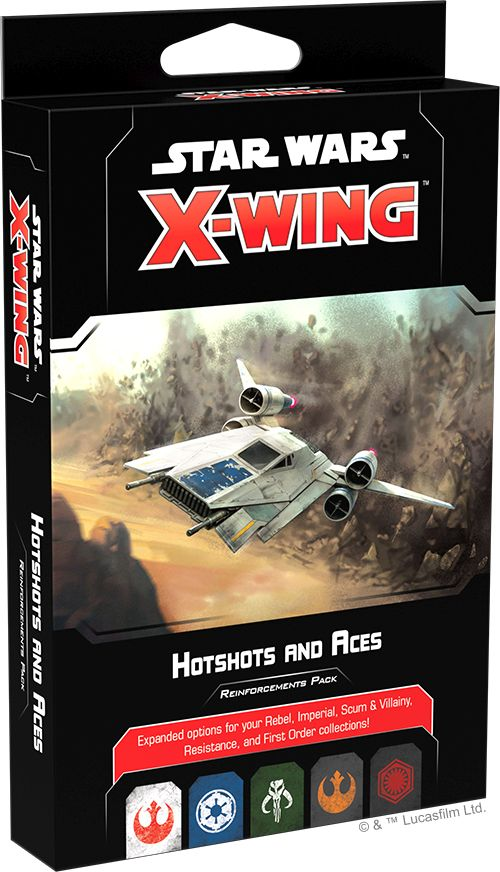Star Wars X-Wing: Hotshots and Aces Reinforcement Pack