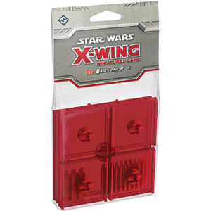 Star Wars X-Wing: Red Bases and Pegs