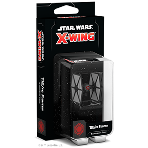 Star Wars X-Wing: TIE/fo Fighter Expansion Pack - Cosmetic box damage