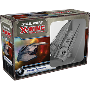 Star Wars X-Wing: VT-49 Decimator Expansion Pack (1st Edition)