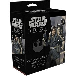 Star Wars Legion: Cassian Andor and K-2SO
