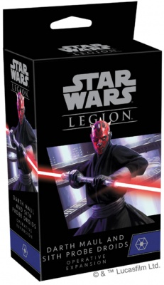 Star Wars Legion: Darth Maul and Sith Probe Droids Operative
