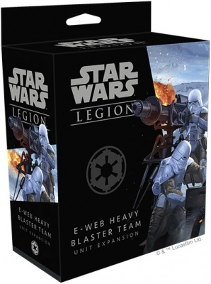 Star Wars Legion: E-Web Heavy Blaster Team Unit