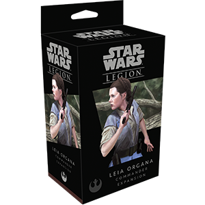 Star Wars Legion: Leia Organa Commander