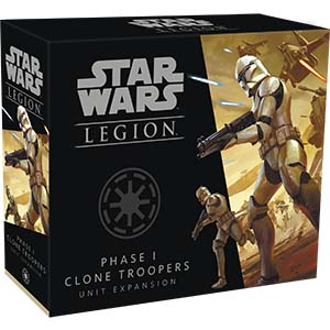 Star Wars Legion: Phase I Clone Troopers Unit (Clone Wars)
