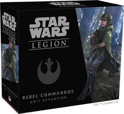 Star Wars Legion: Rebel Commandos Unit