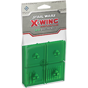 Star Wars X-Wing: Green Bases and Pegs