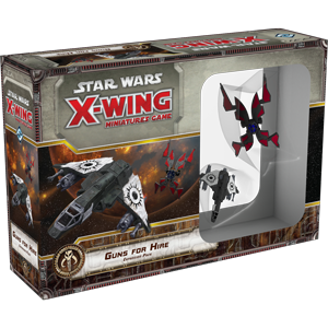 Star Wars X-Wing: Guns for Hire Expansion Pack