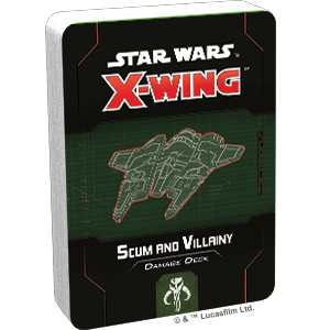 Star Wars X-Wing: Scum and Villainy Damage Deck